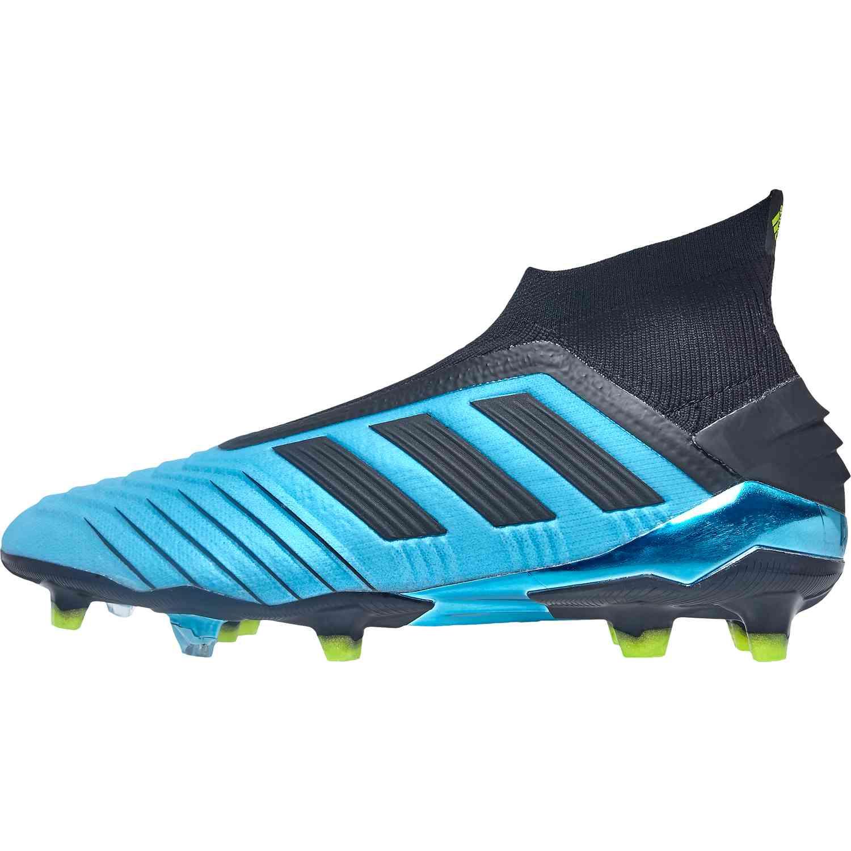 adidas Jr Predator 20+ FG Core BlackWhite | soccerloco