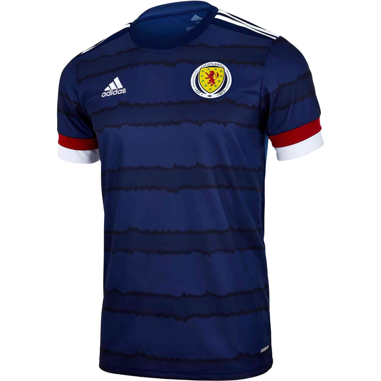 2020 adidas Scotland Home Jersey