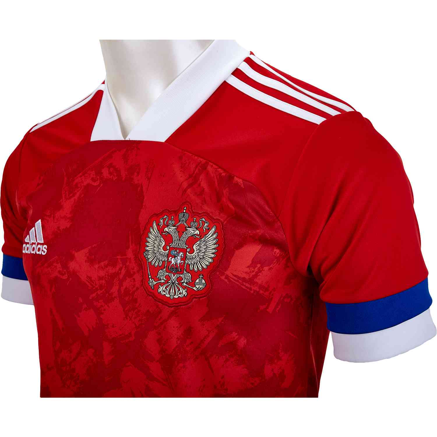 2020 adidas Russia Home Jersey