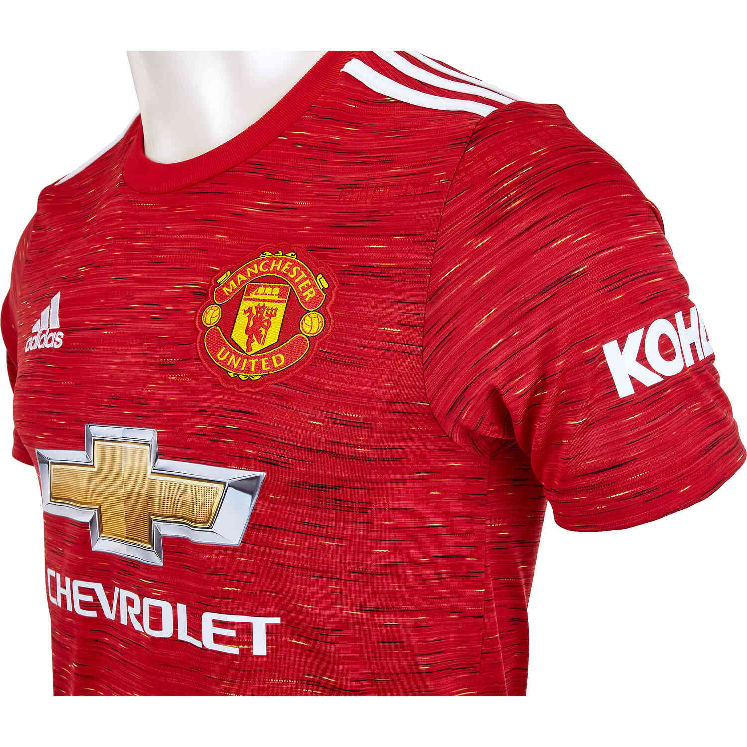 2020/21 Kids adidas Manchester United Home Jersey - Soccer Master