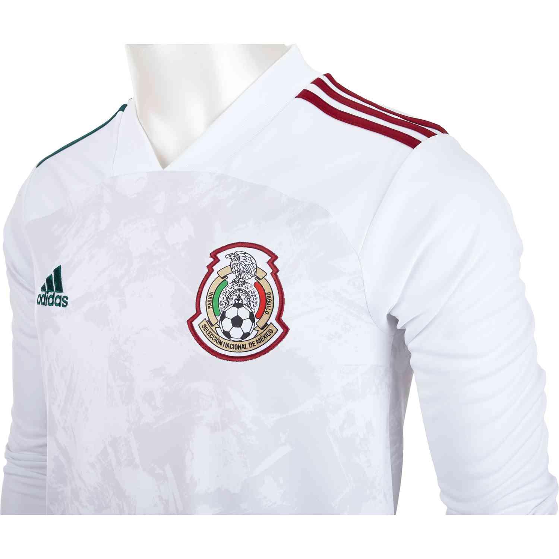 2020 adidas Mexico Long Sleeve Away Jersey - Soccer Master