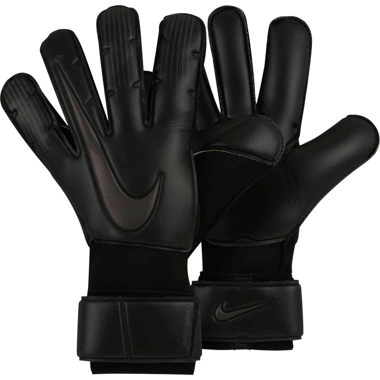 10575fc22 Nike Vapor Grip3 Goalkeeper Gloves - Triple Black - Soccer Master