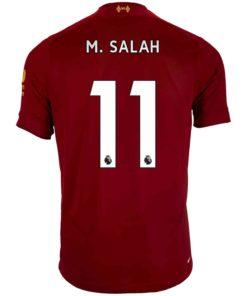 cheap for discount b175d 2b120 2019/20 Kids Mohamed Salah Liverpool Home Jersey