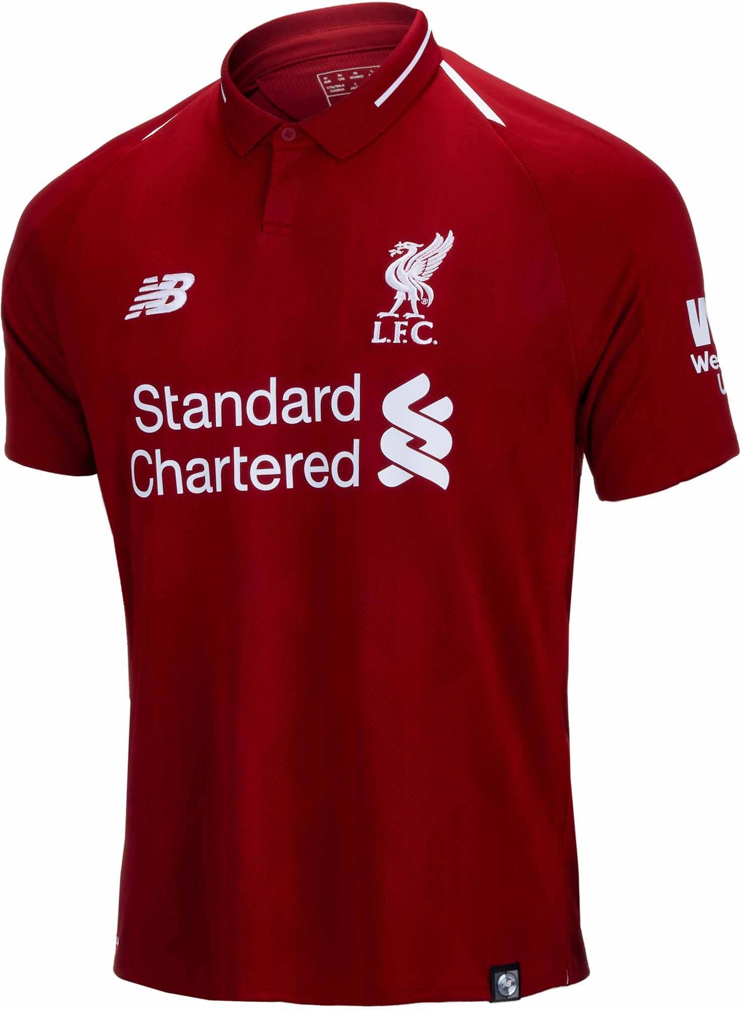 630d5b33e 2018 19 New Balance Liverpool Home Jersey - Soccer Master
