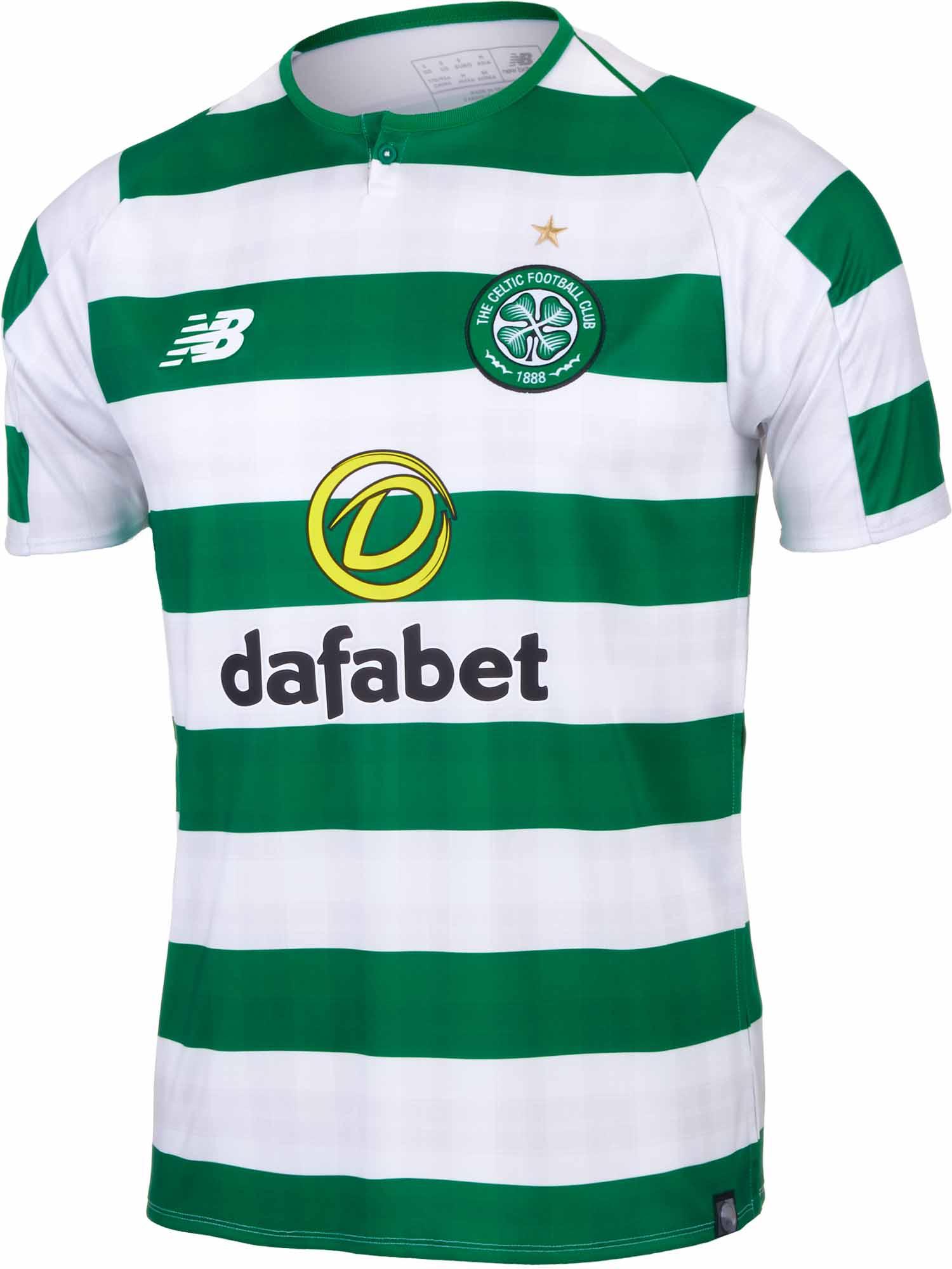Official Celtic Football Third Shirt Jersey Tee Top 2018 19 Mens New Balance