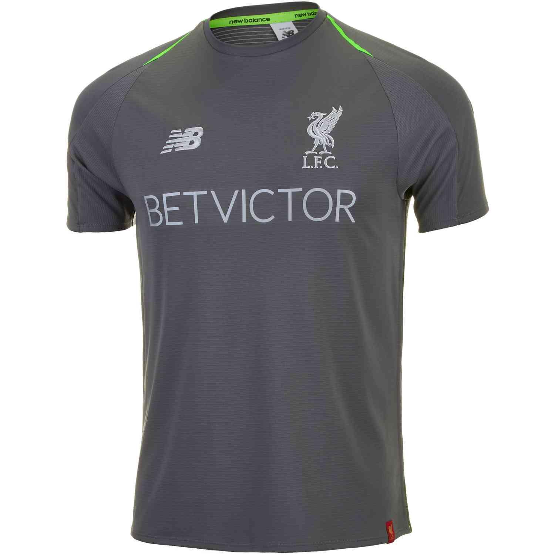 New Balance Liverpool Elite Training Jersey - Castlerock