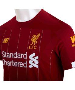 best website b18fc 2a259 2019/20 Mohamed Salah Liverpool Home Jersey - Soccer Master