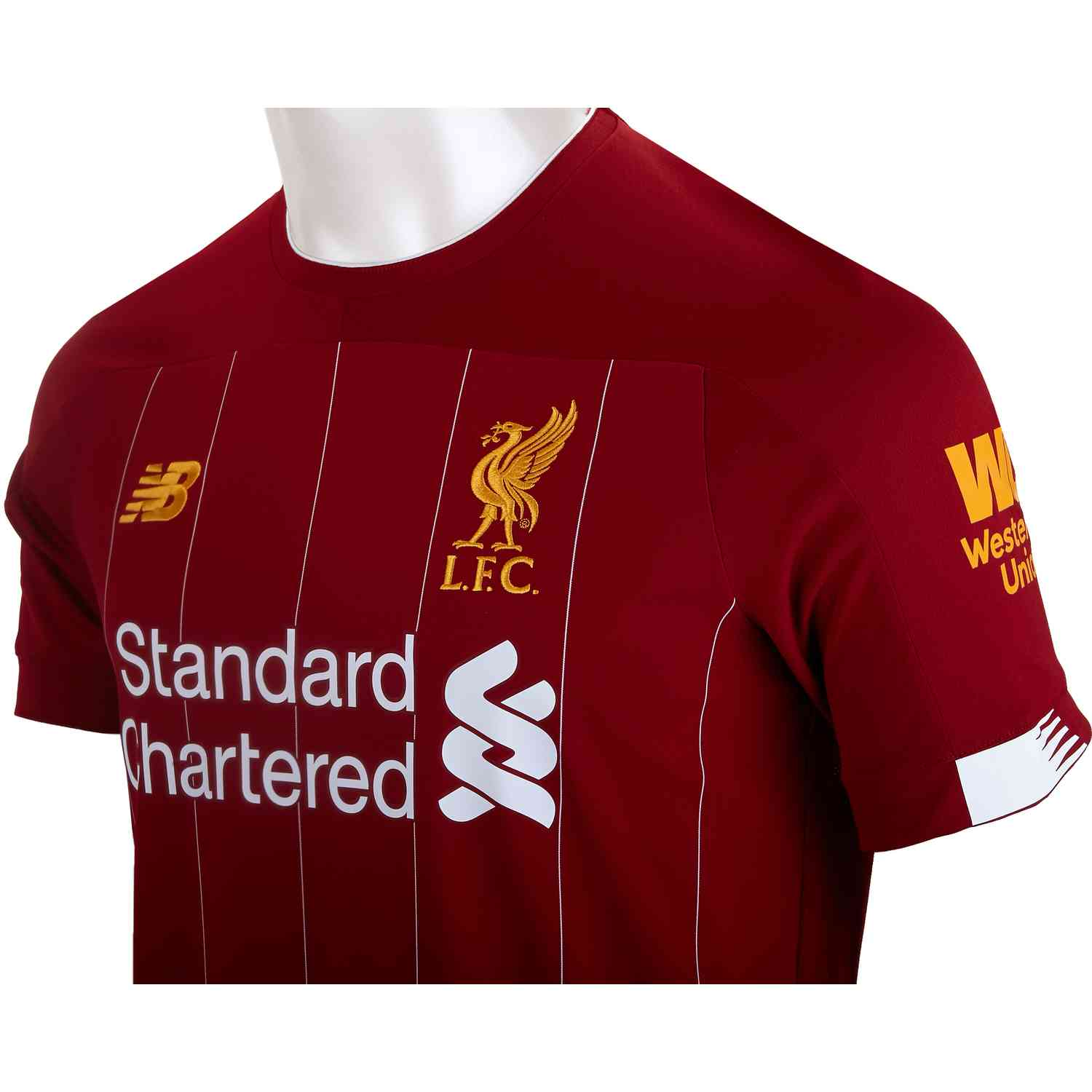 best website 9231c de499 2019/20 Mohamed Salah Liverpool Home Jersey - Soccer Master