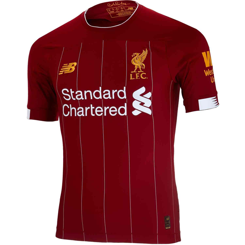 2019/20 New Balance Liverpool Home Elite Jersey - Soccer ...