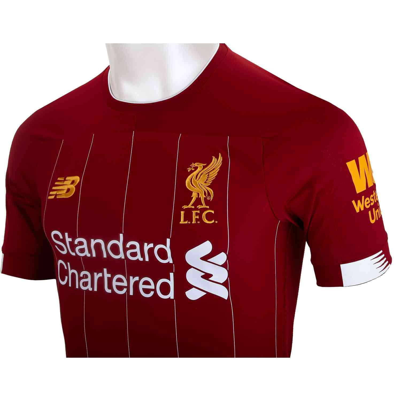 201920 New Balance Liverpool Home Elite Jersey Soccer Master