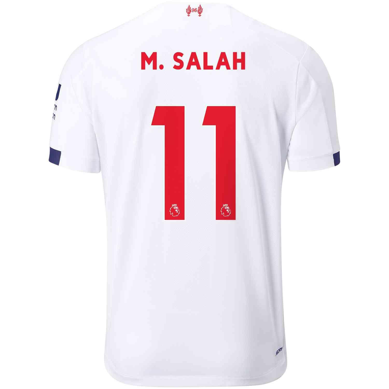 2019/20 Mohamed Salah Liverpool Away Jersey - Soccer Master