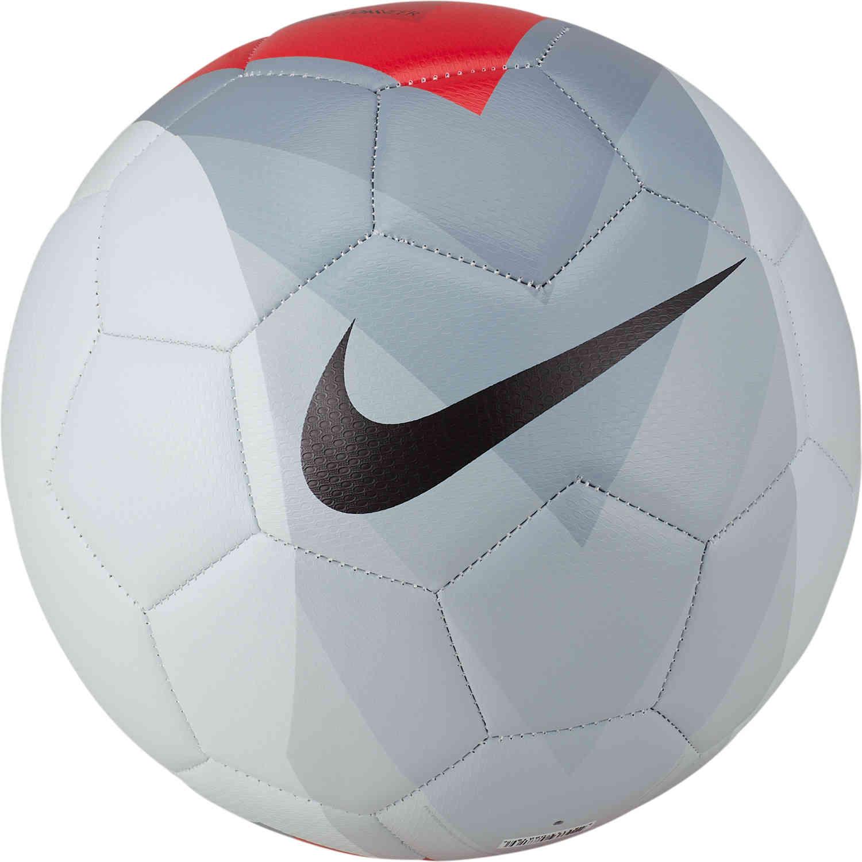 b6d601cc6e6 Nike FootballX Strike Soccer Ball – Pure Platinum.Bright Crimson Dark Grey