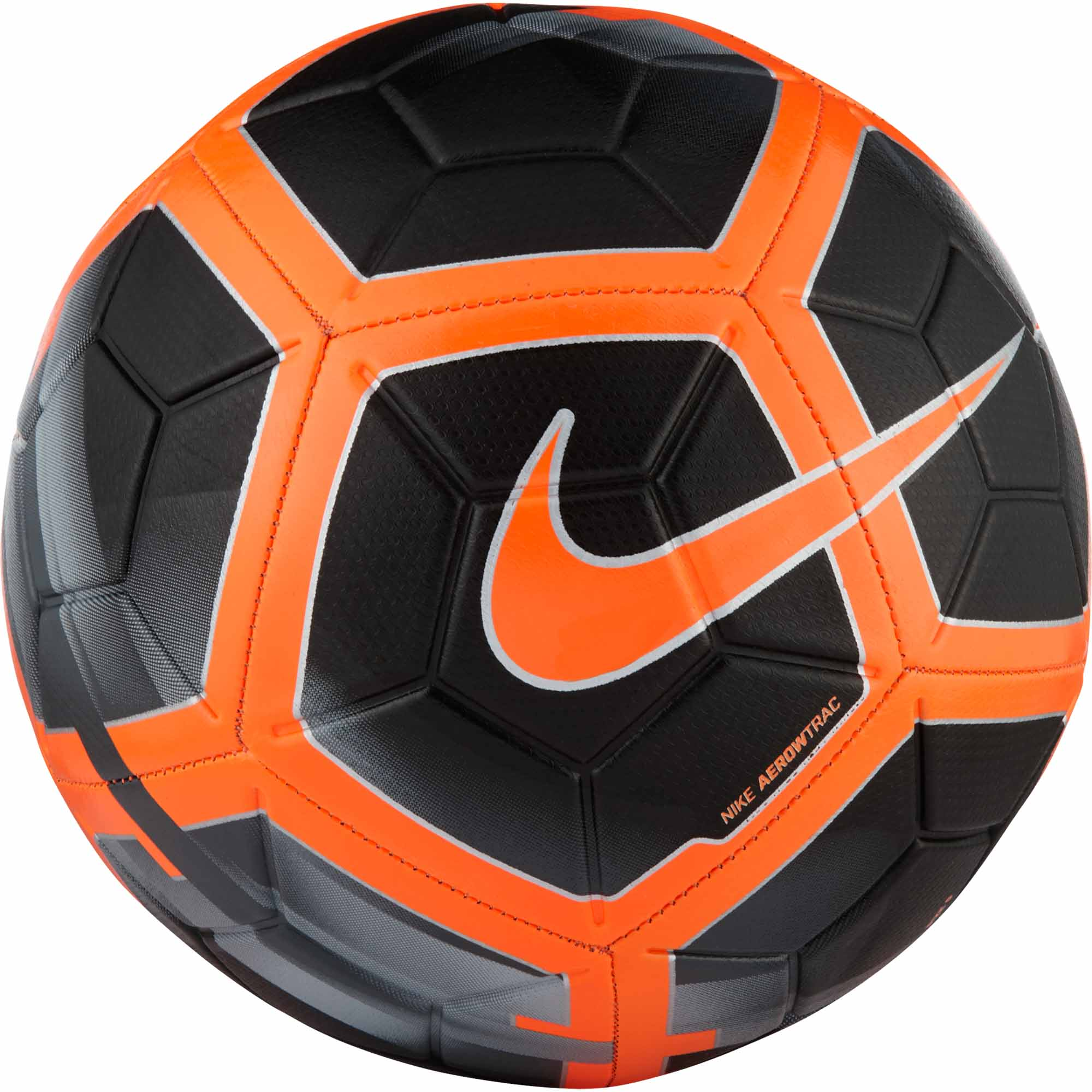 736708fb46c Nike Strike Soccer Ball - Black & Total Orange - Soccer Master