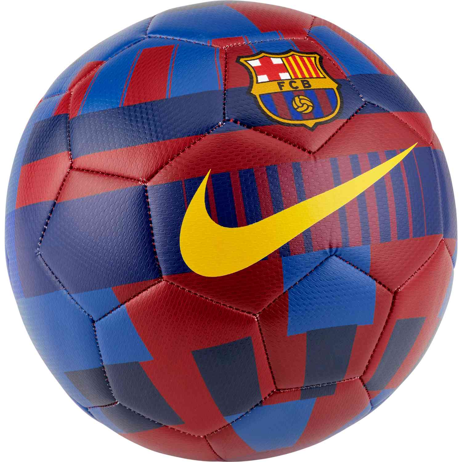 new style 2b18a 00cfb Nike Barcelona 20 Prestige Soccer Ball - Storm Red/Storm Blue
